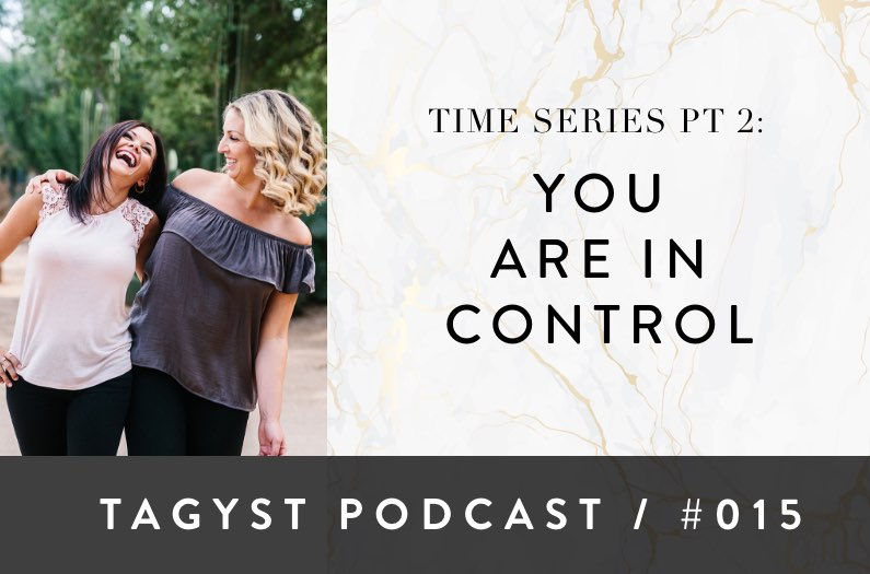 No 15: Time Series Pt 2 – You Are In Control